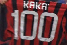 Milan našao žrtvu, Kaka stigao do stotke