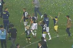 Fenerbahče osvojio 19. titulu prvaka Turske, muškaraca nije bilo na tribinama