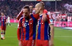 Bayern nastavio savršeni niz u Münchenu: 100. gol Robbena