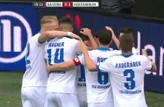 Hoffenheim remizirao protiv Bayerna , visoka pobjeda Dortmunda