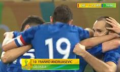 Golčinu Andrijaševića protiv Čilea; Hrvatska ipak poražena
