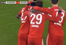 Pobjede Wolfsburga i Hoffenheim , Bayern se izvukao u ludoj utakmici s Augsburgom