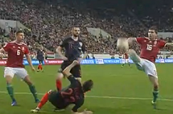 Neuvjerljiva Hrvatska nakon preokreta poražena od Mađarske u Budimpešti , Njemačka u meču s pet pogodaka porazila Nizozemsku